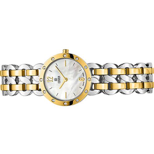 Co179 02 4 - Đồng hồ Nữ Cover Co170.02 - Dây Kim Loại Mạ Vàng