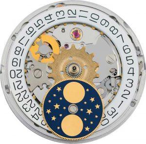 Đồng hồ theo chu kỳ mặt trăng là gì?